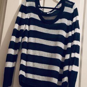 J Crew Knit striped sweater